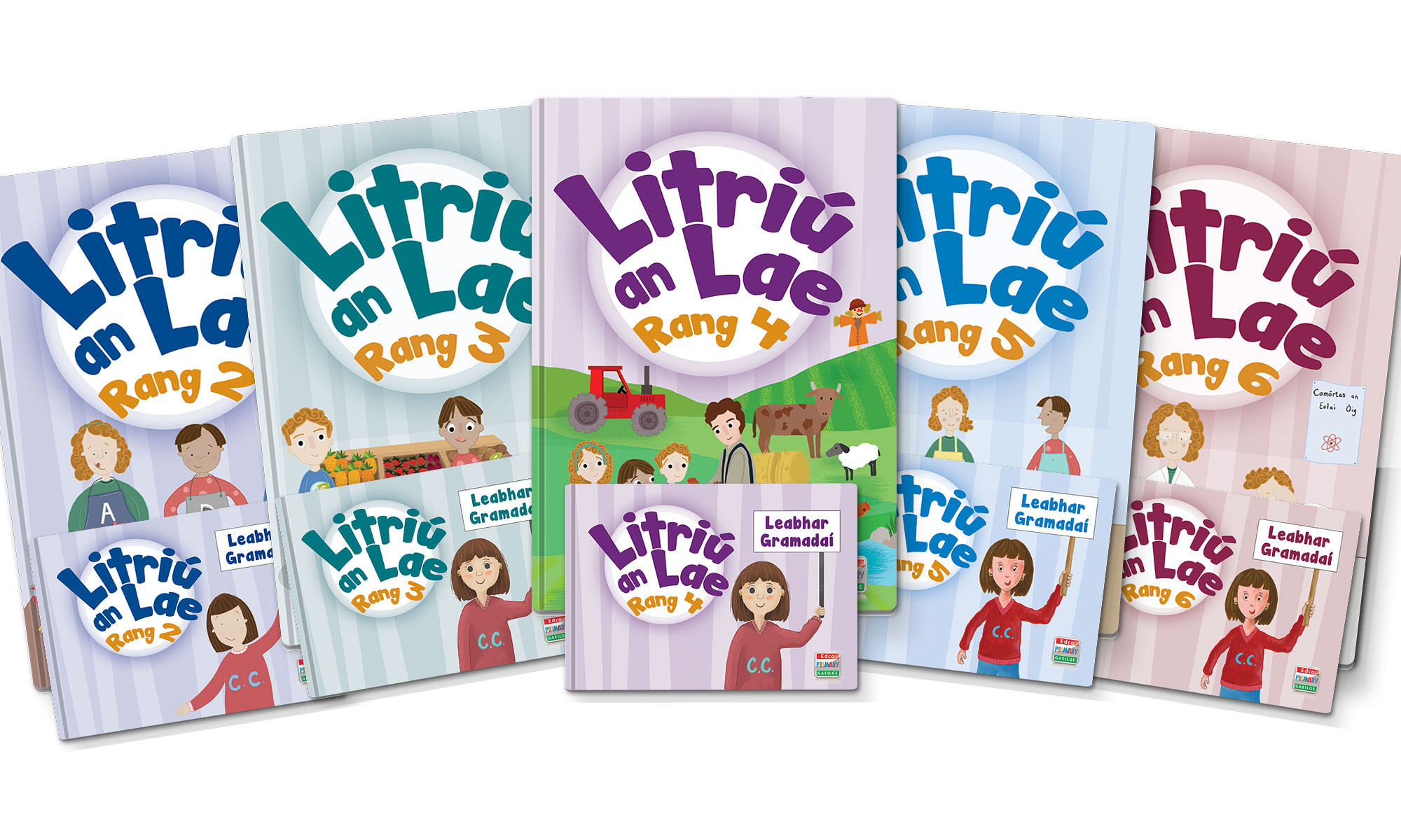 Litriú an Lae is a NEW and exciting Irish spelling and grammar series